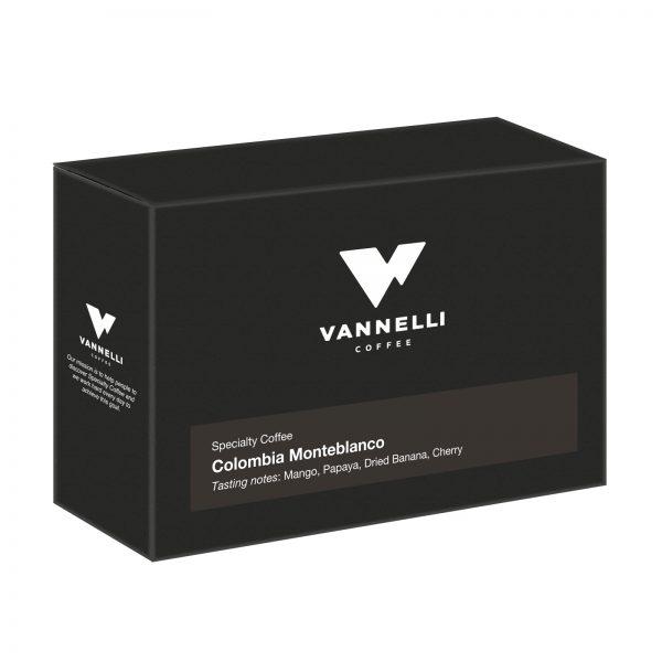 Colombia Monteblanco 3/4 Vannelli Coffee