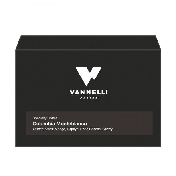 Colombia Monteblanco fronte Vannelli Coffee
