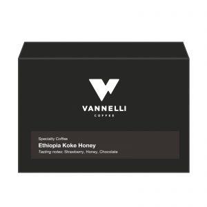 Ethiopia Koke Honey fronte Vannelli Coffee