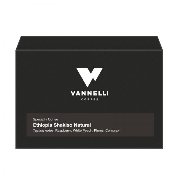 Ethiopia Sakiso fronte Vannelli Coffee