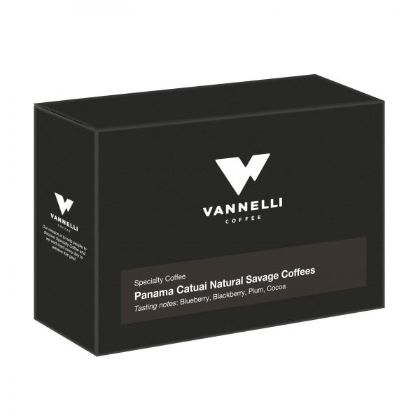 Panama Catuai Natural 3/4 Vannelli Coffee