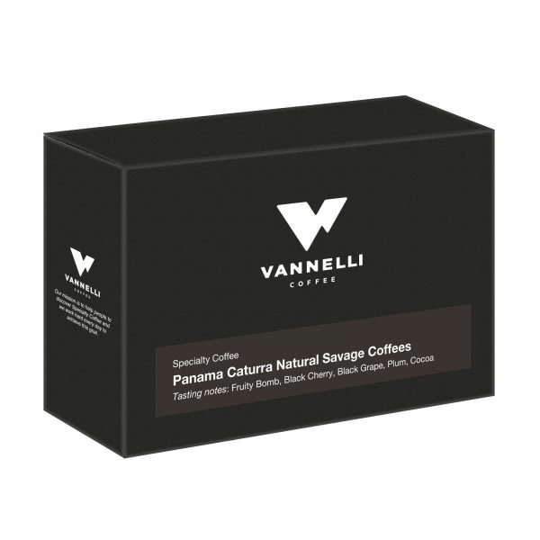Panama Caturra Natural 3/4 Vannelli Coffee