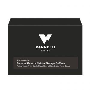 Panama Caturra Natural fronte Vannelli Coffee