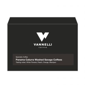 Panama Caturra Washed fronte Vannelli Coffee