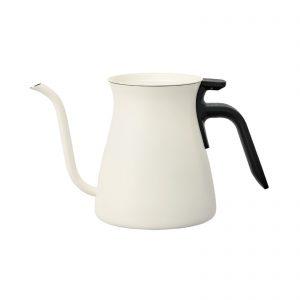 Kinto kettle gooseneck white