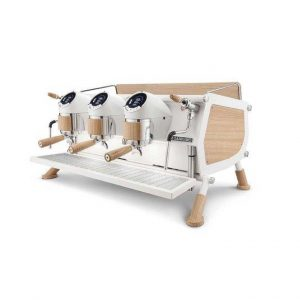 Cafe Racer Sanremo bianco/legno