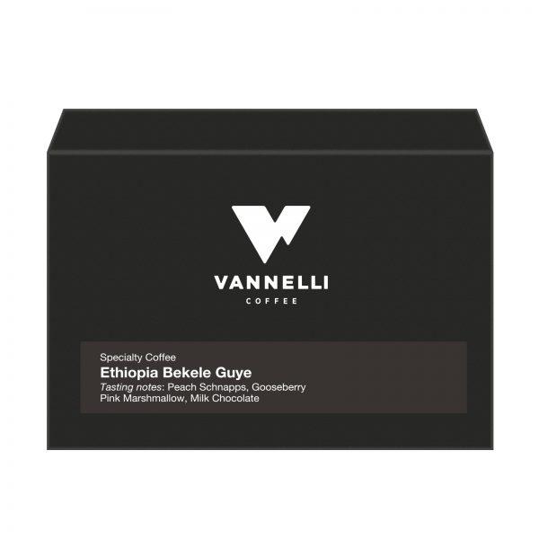 Ethiopia Bekele Guye fronte Vannelli Coffee