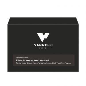 Ethiopia Worka Wuri fronte Vannelli Coffee