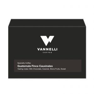 Guatemala Finca Cauxinales fronte Vannelli Coffee
