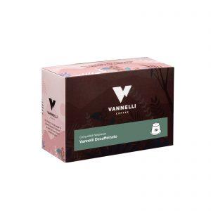 Capsule Espresso Decaffeinato Vannelli Compatible Nespresso