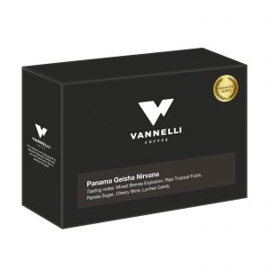 Panama Geisha Nirvana Premium series 3/4 Vannelli Coffee