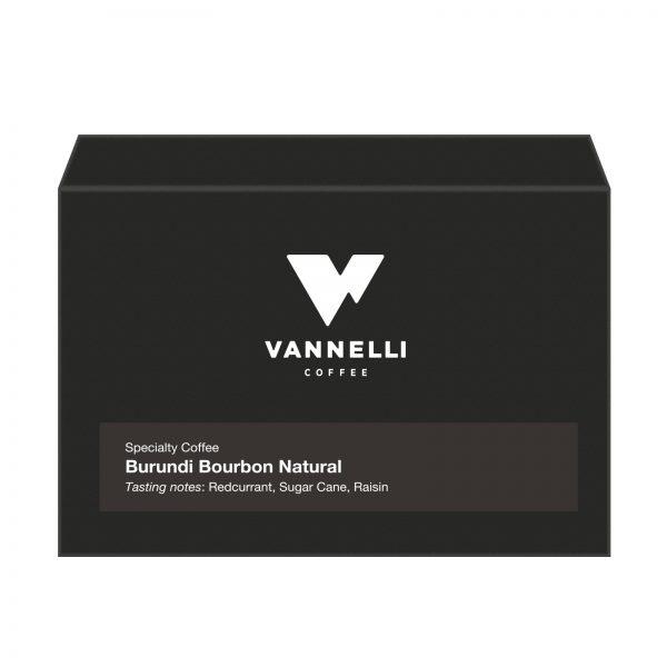 Burundi Cafex Natural fronte Vannelli Coffee